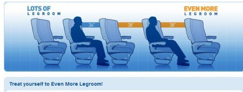 We pay more for tickets yet legroom is decreasing