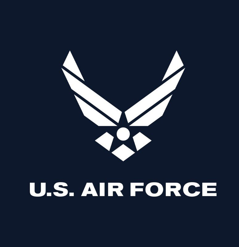 Logo for U.S. Air Force.