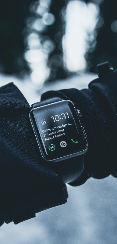 Some men now prefer to have a smart watch rather than a traditional watch