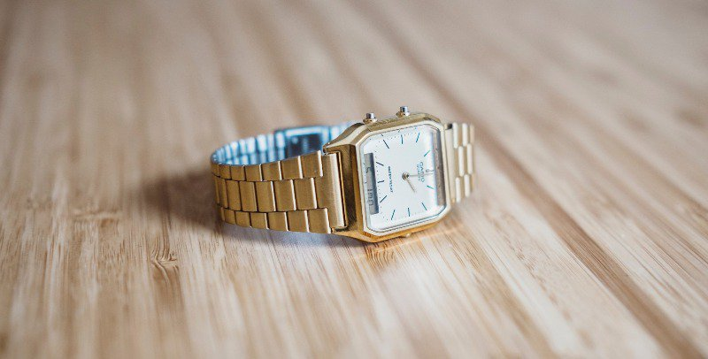 Even nice watches like this one are easy to find at a discount
