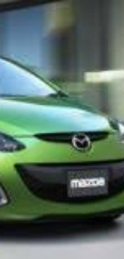 Loving the Mazda in this green color!