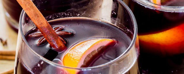 My mulled wine is always a potluck favorite